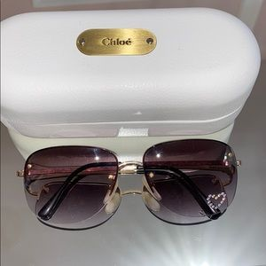 Chloe Vintage sunglasses with heart!